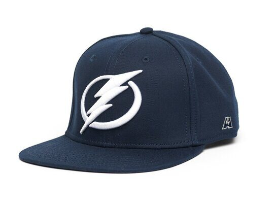 Бейсболка NHL Tampa Bay Lightning Snapback (подростковая)